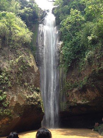 Santo Domingo, El Salvador: Falls