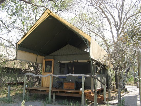 Moremi Game Reserve, Botswana: Our tent 3