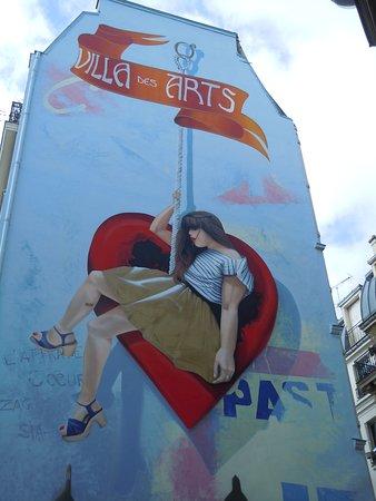 Fresque L'Attrape Coeurs