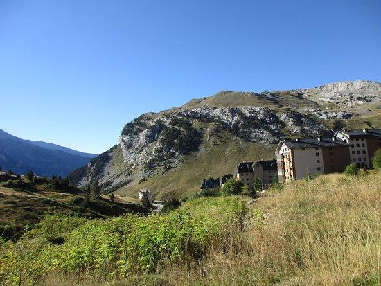 Candanchu, bajando desde Somport por el Camino de Santiago