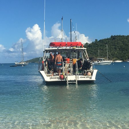 Low Key Watersports: Girls Dive Trip—Low Key took us out 2 days in a row for morning dives.  Wonderful experience - c