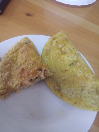 Guayllabamba, เอกวาดอร์: Empanadas rellenas de mariscos