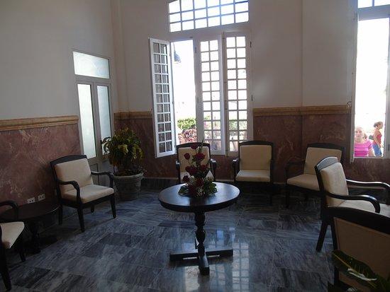 Villa Clara Province, Cuba: Recepción del Hotel
