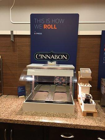 Canonsburg, PA: Cinnabon rolls are often not available