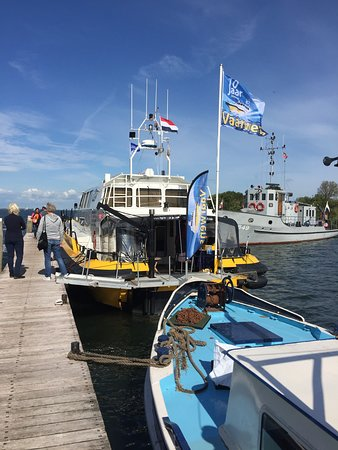 Muiden, The Netherlands: Disembarking area