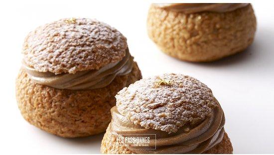 Les Passionnes: Chou pâtissier au praliné