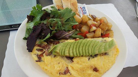 Rolling Hills Estates, Калифорния: Breakfast Omelet