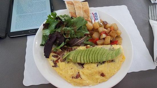 Rolling Hills Estates, แคลิฟอร์เนีย: Breakfast Omelet