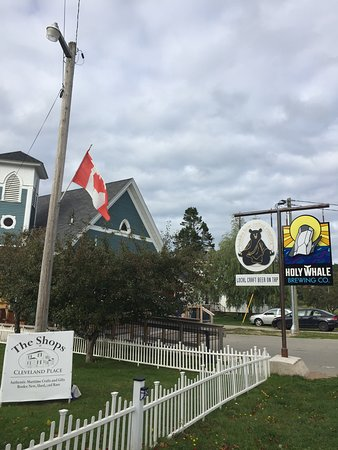 Holy Whale Brewery: Stop at the Holy Whale sign!