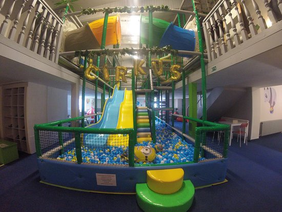 Klatovy, Češka Republika: Cirkus - dětské indoorové hřiště