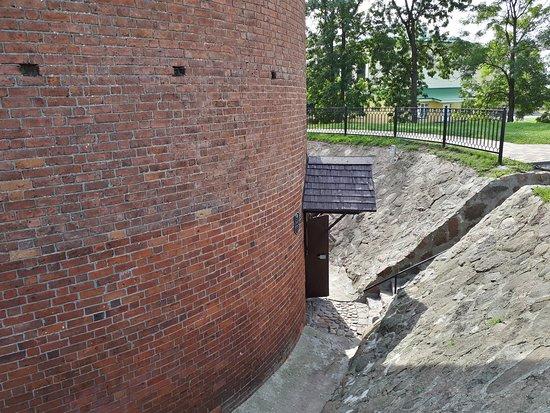 Kamyanyets, Weißrussland: Вход в музей