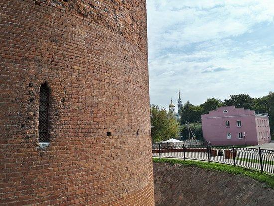 Kamyanyets, Weißrussland: Отсюда и церковь видна