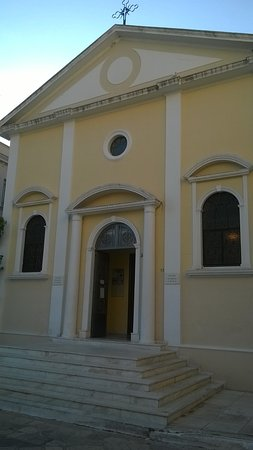 Zakynthos Town, Hellas:  St Mark's Catholic Church