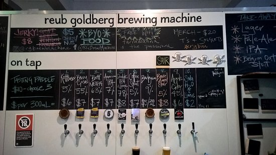Reub Goldberg Brewing Machine