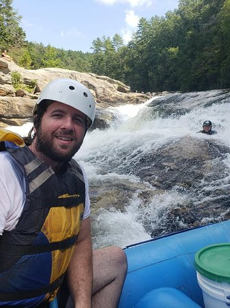 Wildwater Rafting: This was one of the rapids where you have the option of experiencing by going in with no raft.