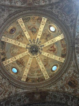 Los Remedios Convent : Bóveda de la iglesia.