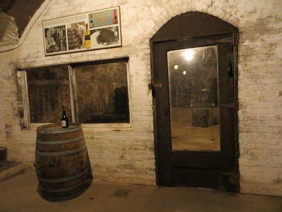 Washingtonville, NY: Through this door..