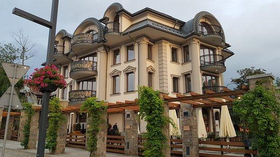 מבנה המסעדה