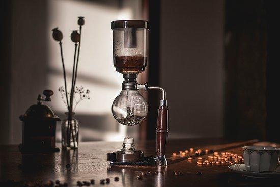 Jablonne v Podjestedi, République tchèque : Kávový obřad Vacuum pot