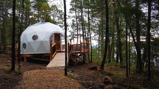 Saint-Fulgence, Canadá: Dome