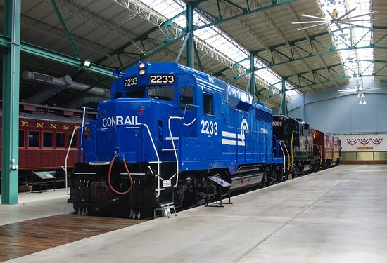 Awesome trains - Picture of Railroad Museum of Pennsylvania