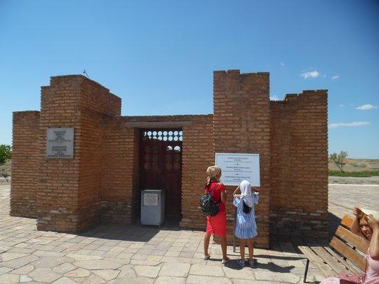 Turkestan, كازاخستان: Esim Khan Mausoleum
