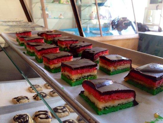 Harriman, TN: almond rainbow cookies