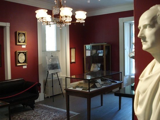 Groton history displayed throughout with ever changing displays