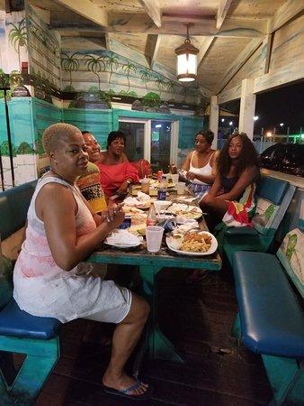Goldie's Conch House Nassau Bahamas: 20180825_213636_large.jpg