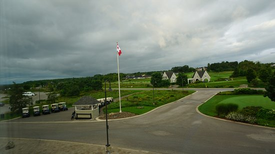 Kemble, Kanada: View from the room window