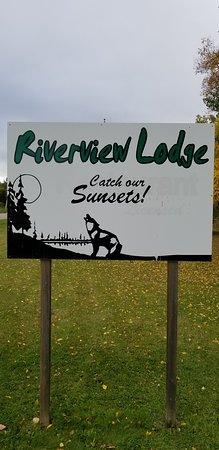 Whiteshell Provincial Park, Kanada: Lodge signage