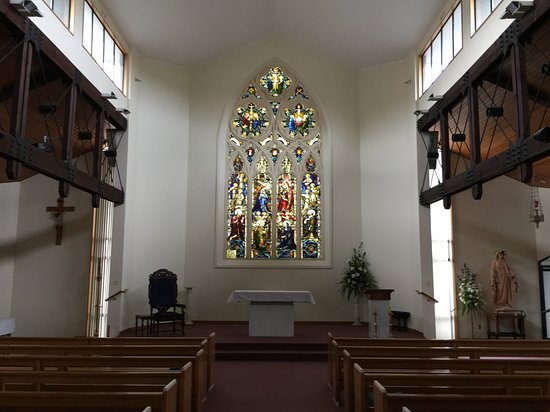 Greymouth, New Zealand: East window