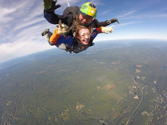 Orange, MA: Me and Joe on top of the world!!