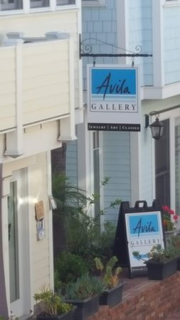 Avila Beach, Kalifornien: Avila Gallery Entrance