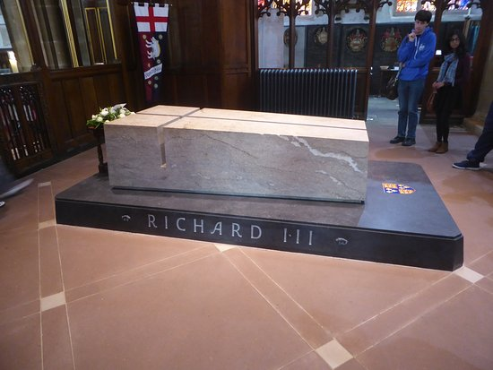 Leicester Cathedral: Richard III's tomb at Leicester Cathedral