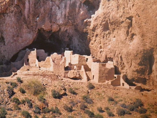 Ruins of Tonto National Monument.