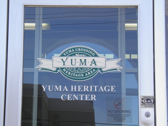 Yuma Crossing National Heritage Area: Entrance to Yuma Heritage Center .