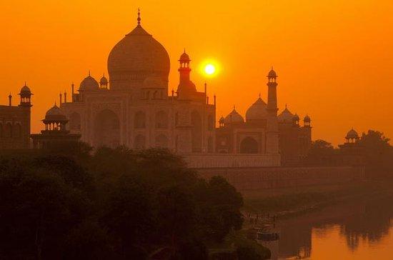 Viagem de um dia ao Taj Mahal de Jaipur...