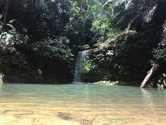 Seria, Brunei Darussalam: Teraja pool and waterfall