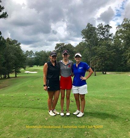 Calera, Алабама: College women's Golf Tournament 9/2018