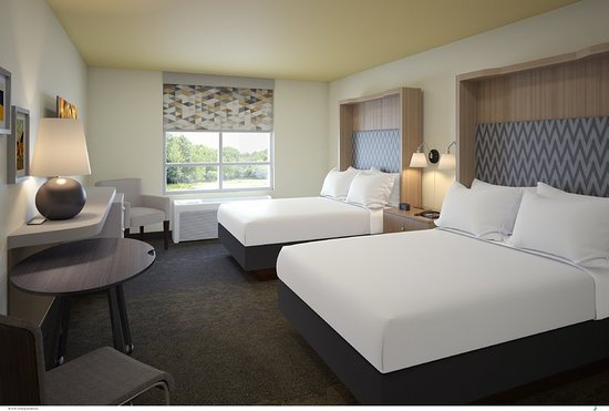 Holiday Inn Scranton East - Dunmore: Guest room