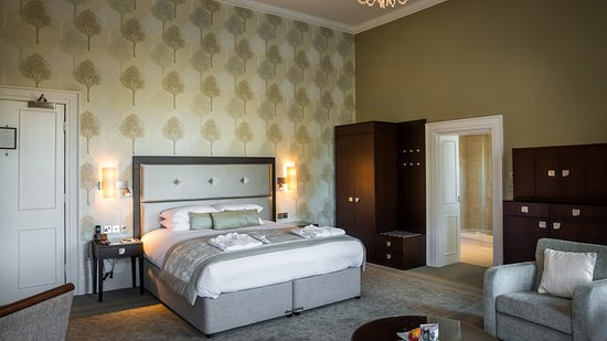 Oakley, UK: Guest room