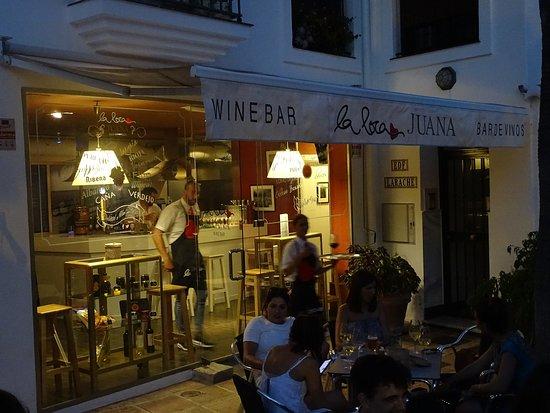 Arroyo de la Miel, Ισπανία: De noche la terraza