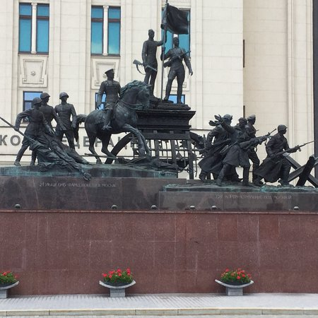 Monument to heroes of the Great Patriotic War