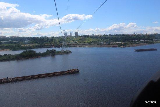 Nizhny Novgorod Cableroads: На канатке над Волгой
