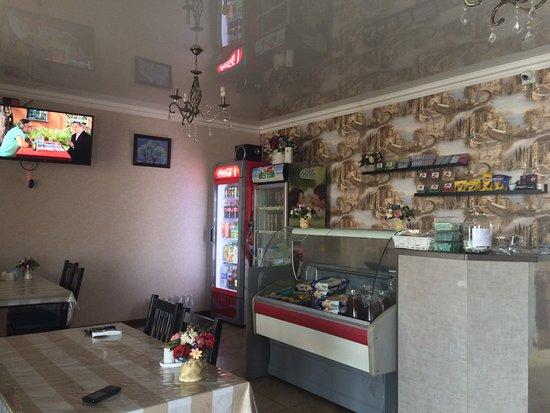 Krasnodar Krai, Rosja: Внутри кафе