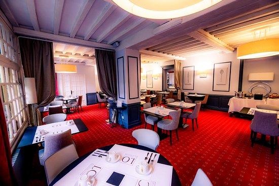 HOTEL Le Lion d'Or: Salle petit déjeuner