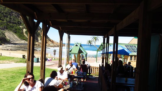 Victoria Bay, Südafrika: The restaurant