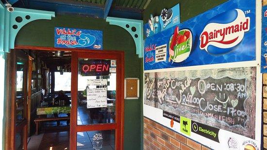 Victoria Bay, Südafrika: Vikki's entrance