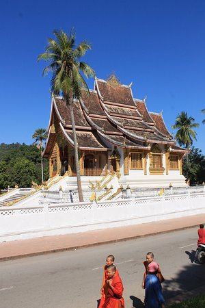 Luang Prabang Province, Laos: Orange is the New Black.
